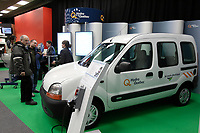 Montreal's AUTO SHOW 2007 feature many electric  cars such as the<br /> CLEANOVA 2 uisng the TM4  motor<br /> <br /> <br /> photo :  Images Distribution