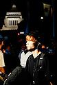 SEALDs continue protest against Abe's security reinterpretation