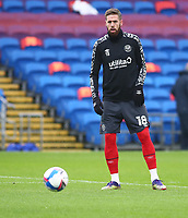 26th December 2020; Cardiff City Stadium, Cardiff, Glamorgan, Wales; English Football League Championship Football, Cardiff City versus Brentford; Pontus Jansson of Brentford during warm up