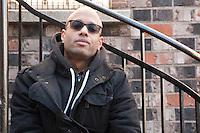 FILE PHOTO -  Quebec rap artist Aly Ndiaye aja WEBSTER  in february 2016.<br /> <br /> <br /> Photo : Josie Desmarais - Agence Quebec Presse