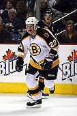 February 17th 2007:  Shean Donovan (22) of the Boston Bruins skates up ice vs. the Buffalo Sabres at HSBC Arena in Buffalo, NY.  The Bruins defeated the Sabres 4-3 in a shootout.