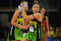 Pulse's Whitney Souness in action during the ANZ Premiership netball match between Central Pulse and Mainland Tactix at Te Rauparaha Arena in Wellington, New Zealand on Friday, 9 July 2021. Photo: Dave Lintott / lintottphoto.co.nz