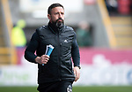 Aberdeen v St Johnstone…29.04.17     SPFL    Pittodrie<br />Dons boss Derek McInnes<br />Picture by Graeme Hart.<br />Copyright Perthshire Picture Agency<br />Tel: 01738 623350  Mobile: 07990 594431