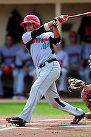 University of Hartford Hawks outfielder Chris DelDebbio (10) during a game versus the Boston College Eagles at Pellagrini Diamond at Shea Field on May 9, 2015 in Chestnut Hill, Massachusetts. (Ken Babbitt/Four Seam Images)