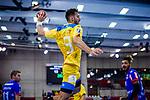 Matthias Hild (HSG Konstanz #9) beim Spiel HSG Konstanz – HBW Balingen-Weilstetten beim BGV Handball Cup 2020.<br /> <br /> Foto © PIX-Sportfotos *** Foto ist honorarpflichtig! *** Auf Anfrage in hoeherer Qualitaet/Aufloesung. Belegexemplar erbeten. Veroeffentlichung ausschliesslich fuer journalistisch-publizistische Zwecke. For editorial use only.