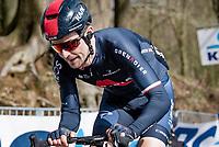 Michał Gołaś (POL/INEOS Grenadiers) up the Kemmelberg<br /> <br /> 83rd Gent-Wevelgem - in Flanders Fields (ME - 1.UWT)<br /> 1 day race from Ieper to Wevelgem (BEL): 254km<br /> <br /> ©kramon