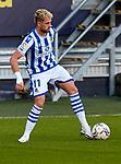 Adnan Januzaj (Real Sociedad) controls the ball during  La Liga match round 10 between Cadiz CF and Real Sociedad at Ramon of Carranza Stadium in Cadiz, Spain, as the season resumed following a three-month absence due to the novel coronavirus COVID-19 pandemic. Nov 22, 2020. (ALTERPHOTOS/Manu R.B.)
