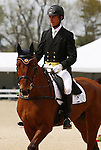 April 24, 2014: Zatopek B and Jonathan Holling compete in Dressage at the Rolex Three Day Event in Lexington, KY at the Kentucky Horse Park.  Candice Chavez/ESW/CSM