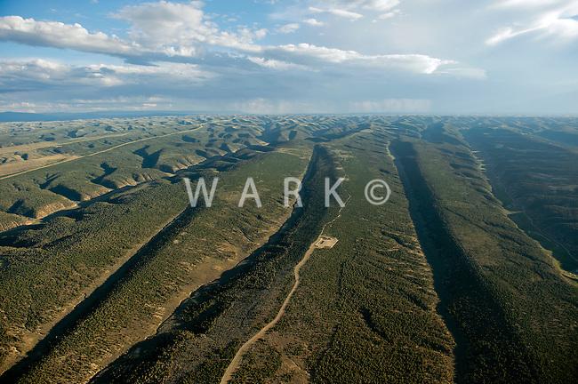 rolling hills of northwestern Colorado