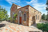 A church of Kampos in Chios island, Greece