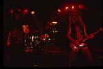 Ian Astbury, Billy Duffy , Matt Sorum of The Cult July 1989