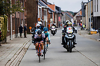 Austrian National Champion Kathrin Schweinberger (AUT/Doltcini-Van Eyck-Proximus) chasing the breakaway group<br /> <br /> 17th Ronde van Vlaanderen 2020<br /> Elite Womens Race (1.WWT)<br /> <br /> One Day Race from Oudenaarde to Oudenaarde 136km<br /> <br /> ©kramon