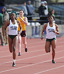 Tulane Track and Field takes first place at the Tulane Team Challenge at Tad Gormley Stadium in New Orleans.