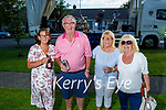 Attending the Midnight Cafe gig  to the residents of Connolly Park on Saturday as part of a fundraiser for the Kerry Mental Health Association. L to r: Rita Greensmyth, David and Mary Doyle and Anita Looney.