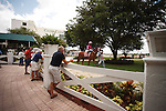 Scene from Calder Race Course, Summit of Speed day. Miami Gardens,  Florida. 07-06-2013