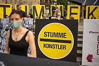 2020/06/18 Kultur | Kuenstler | Protest | Coronahilfen