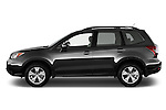 Car driver side profile view of a 2015 Subaru Forester 2.5I Pzev 5 Door SUV