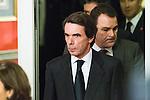 Spanish politic Jose Maria Aznar attends the Expansion newspaper 30th anniversary at the Palace Hotel, Madrid.  February 7th 2017. (ALTERPHOTOS/Rodrigo Jimenez)