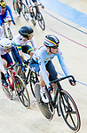 Lotte Kopecky of Belgium competes in the Women's Points Race 25 km Final during the 2017 UCI Track Cycling World Championships on 16 April 2017, in Hong Kong Velodrome, Hong Kong, China. Photo by Chris Wong / Power Sport Images