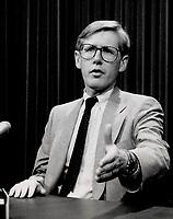 1989 FILE PHOTO - ARCHIVES -<br /> <br /> Bob Rae <br /> : NDP leader denounces secrecy in the Peterson government.