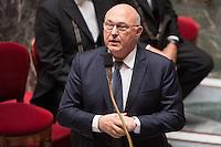 MICHEL SAPIN - ASSEMBLEE NATIONALE - SEANCE DE QUESTIONS AU GOUVERNEMENT