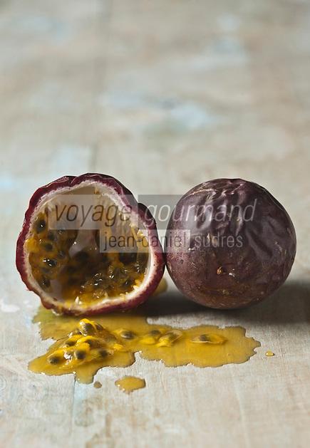 Gastronomie Générale/ Fruits de la passion - Stylisme : Valérie LHOMME