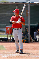 Hank Conger - Los Angeles Angels - 2009 spring training.Photo by:  Bill Mitchell/Four Seam Images