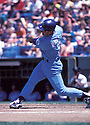 Kansas City Royals George Brett (5) in action during a game in 1988. George Brett played for 21 years and was inducted to the Baseball Hall of Fame in 1999.