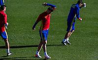 Spainsh Aritz Aduriz during the training of the spanish national football team in the city of football of Las Rozas in Madrid, Spain. November 10, 2016. (ALTERPHOTOS/Rodrigo Jimenez) ///NORTEPHOTO.COM