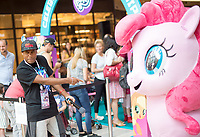 My LIttle Pony marketing campaign was held at the Mall of America Aug. 30 to promote Friendship Day across the US with various activites for girls and boys of all ages, including a photo booth, hair hilights by stylists, friendship bracelets, and general family fun - event photography, Minneapolis MN