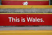 This is Wales signage ahead of Glamorgan vs Essex Eagles, Royal London One-Day Cup Cricket at the Sophia Gardens Cardiff on 17th April 2019