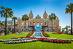 Fuerstentum Monaco, an der Côte d'Azur, Stadtteil Monte Carlo: Opéra de Monte-Carlo mit dem Casino Monte-Carlo | Principality of Monaco, on the French Riviera (Côte d'Azur), district Monte Carlo: Opéra de Monte-Carlo with the Casino Monte-Carlo