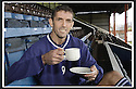 24/01/2003                   Copyright Pic : James Stewart.File Name : stewart-falkirk cup 01.TEA-TOTAL OWEN COYLE IS UP FOR THE CUP........James Stewart Photo Agency, 19 Carronlea Drive, Falkirk. FK2 8DN      Vat Reg No. 607 6932 25.Office     : +44 (0)1324 570906     .Mobile  : +44 (0)7721 416997.Fax         :  +44 (0)1324 570906.E-mail  :  jim@jspa.co.uk.If you require further information then contact Jim Stewart on any of the numbers above.........