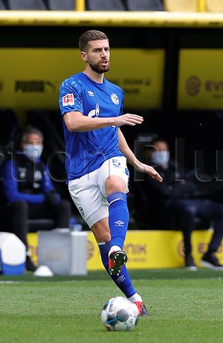 16th May 2020, Signal Iduna Park, Dortmund, Germany; Bundesliga football, Borussia Dortmund versus FC Schalke;  FC Schalke 04 player Matija NASTASIC