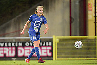 Feli Delacauw (44) of AA Gent Ladies pictured during a female soccer game between RSC Anderlecht Dames and AA Gent Ladies  on the fourth matchday of the 2021 - 2022 season of Belgian Womens Super League , friday 10 th of September 2021 in Overijse , Belgium . PHOTO SPORTPIX | DIRK VUYLSTEKE