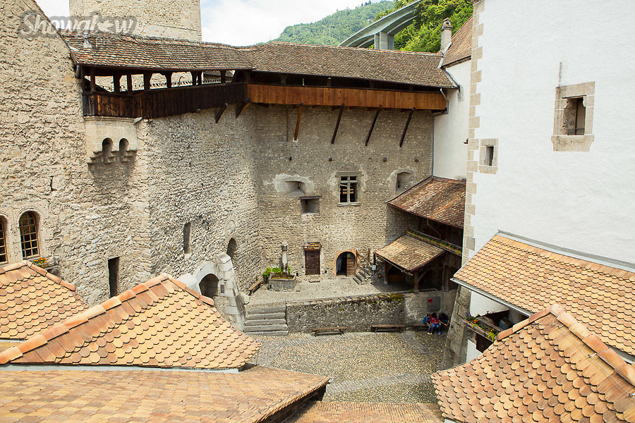 Image Ref: SWISS102<br /> Location: Montreaux, Switzerland<br /> Date of Shot: 25th June 2017