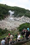 La Soufriere, the most accessible volcanic feature on St. Lucia