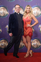 "Rev. Richard Coles and Gemma Atkinson<br /> at the launch of the new series of ""Strictly Come Dancing, New Broadcasting House, London. <br /> <br /> <br /> ©Ash Knotek  D3298  28/08/2017"