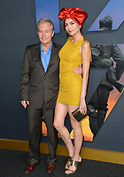 "LOS ANGELES, USA. December 19, 2019: Blanca Blanco & John Savage at the premiere of ""1917"" at the TCL Chinese Theatre.<br /> Picture: Paul Smith/Featureflash"