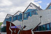 Moderne Architektur in Piwniczna Zdrój, Woiwodschaft Kleinpolen (Województwo małopolskie), Polen, Europa<br /> Modern architecture  in Piwniczna Zdrój, Poland, Europe