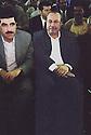 Irak Kurdistan 2002<br /> Nechirvan Barzani, premier ministre et Roj Shawess, président du Parlement kurde<br /> <br /> Kurdistan Irak 2002<br /> Nechirvan Barzani, prime minister of KDP and Roj Shawess, president of Parliament