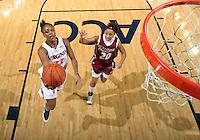 Virginia women's basketball player Monica Wright.
