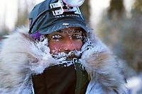 Portrait of Steve Carrick @ 30 Below Rohn 99 Iditarod AK
