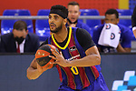 Liga ACB-ENDESA 2020/2021. Game: 26.<br /> FC Barcelona vs Casademont Zaragoza: 107-88.<br /> Brandon Davies.