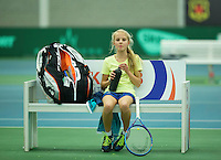 Rotterdam, The Netherlands, March 13, 2016,  TV Victoria, NOJK 12/16 years, Joelle Steur (NED)<br /> Photo: Tennisimages/Henk Koster