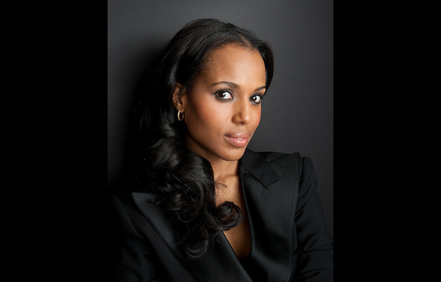 Kerry Washington photographed for The Creative Coalition at Haven House in Beverly Hills, California on February 19, 2009