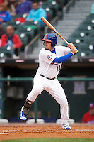 Buffalo Bisons designated hitter Darrell Ceciliani (10) at bat during a game against the Durham Bulls on June 13, 2016 at Coca-Cola Field in Buffalo, New York.  Durham defeated Buffalo 5-0.  (Mike Janes/Four Seam Images)