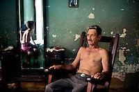 Man and his son, Trinidad, Cuba, 2009