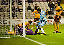 14/12/2010   Copyright  Pic : James Stewart.sct_jsp003_motherwell_v_hearts  .::  MARK REYNOLDS AND DARREN RANDOLPH KNOCK DAVID TEMPLETON'S OVERHEAD KICK INTO THE NET FOR HEARTS FIRST  ::.James Stewart Photography 19 Carronlea Drive, Falkirk. FK2 8DN      Vat Reg No. 607 6932 25.Telephone      : +44 (0)1324 570291 .Mobile              : +44 (0)7721 416997.E-mail  :  jim@jspa.co.uk.If you require further information then contact Jim Stewart on any of the numbers above.........