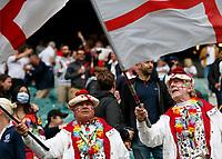 10th July 2021; Twickenham, London, England; International Rugby Union England versus Canada; Wonderful English supporters in fancy dress